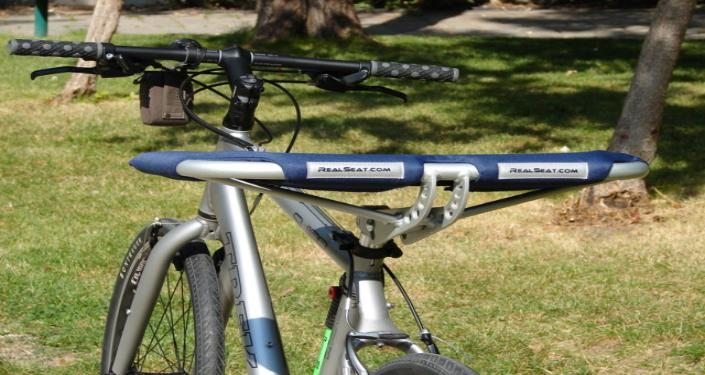 Trek SU100 with a RealSeat brand Comfort Bicycle Seat